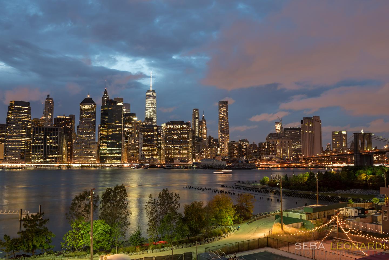 Vista desde Brooklyn Heighs Promenade