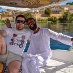Paseo en Faluca con el Captain Saif