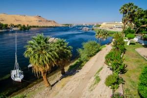 El Nilo desde la Isla Elefantina