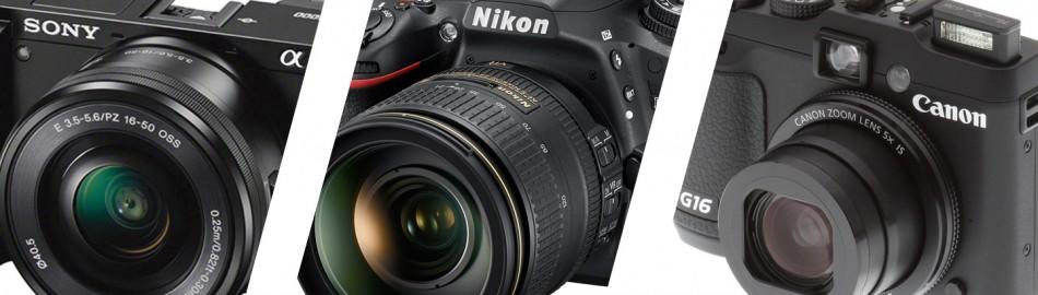 Elegir una camara fotográfica