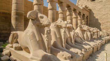 Entrada al tempolo de Karnak
